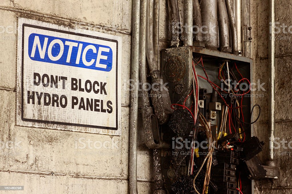 Hydro Box royalty-free stock photo