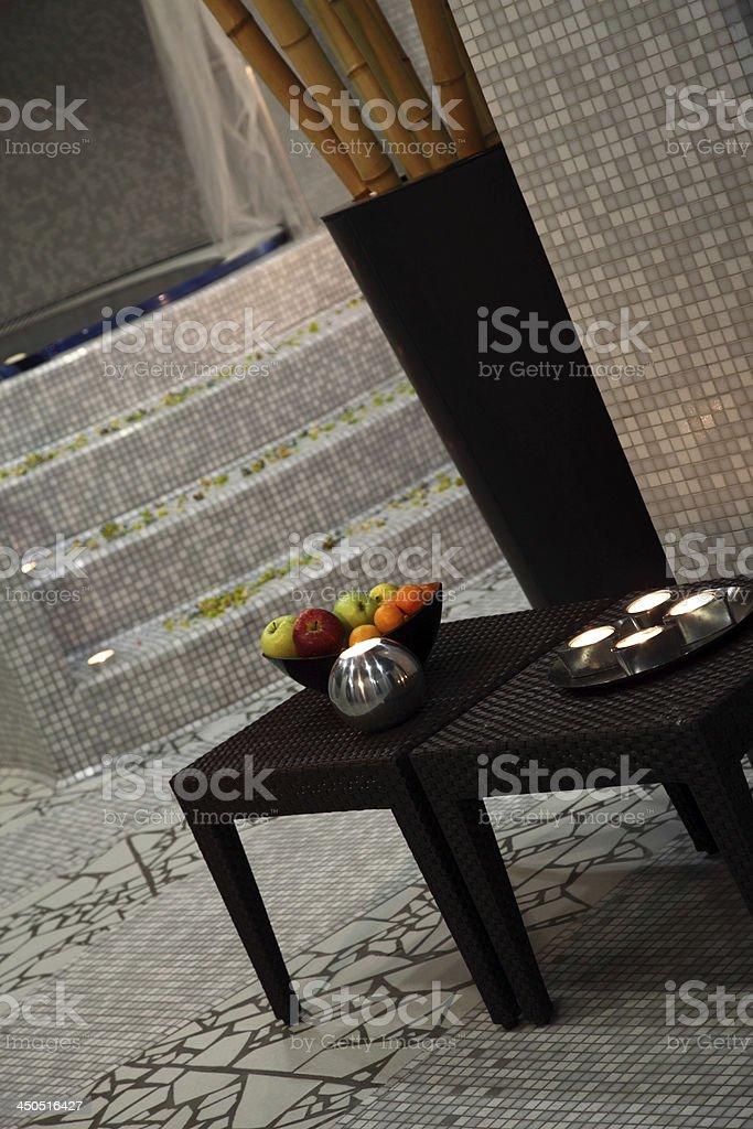 hydro massage room decor royalty-free stock photo