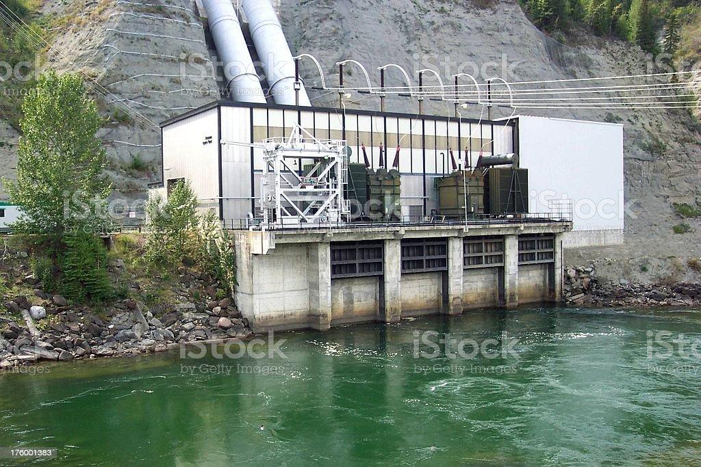 Hydro Power 3 stock photo