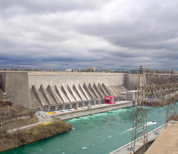 Wasserkraft, Kraftwerk – Foto