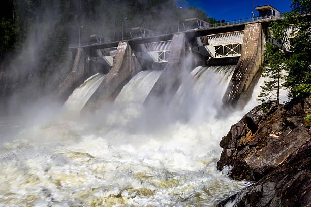 hydro электростанция - энергия воды стоковые фото и изображения
