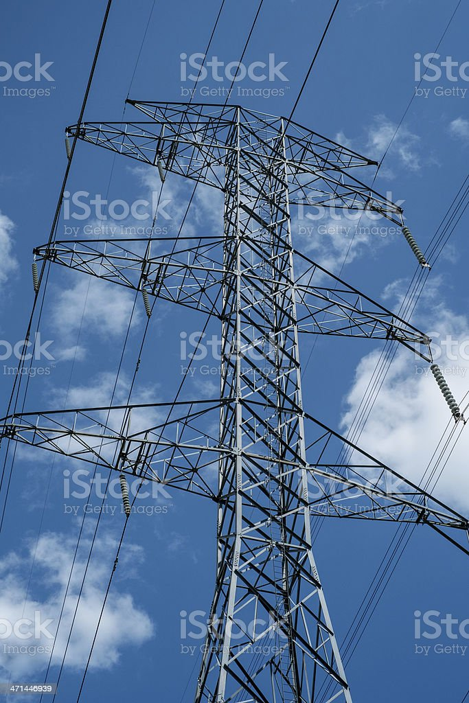 Hydro Pylon stock photo