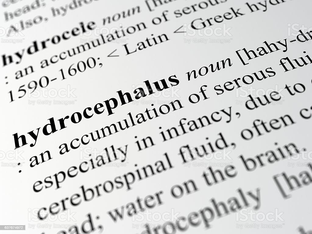 hydrocephalus stock photo
