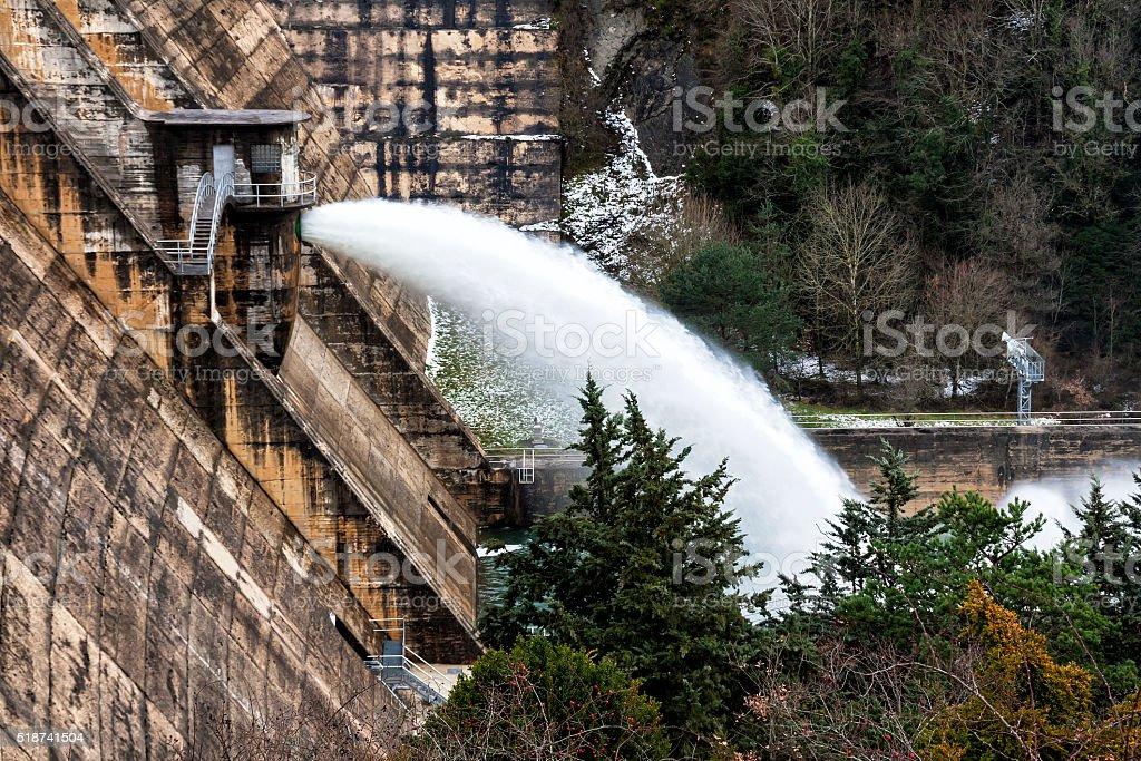Hidroeléctrica - foto de stock