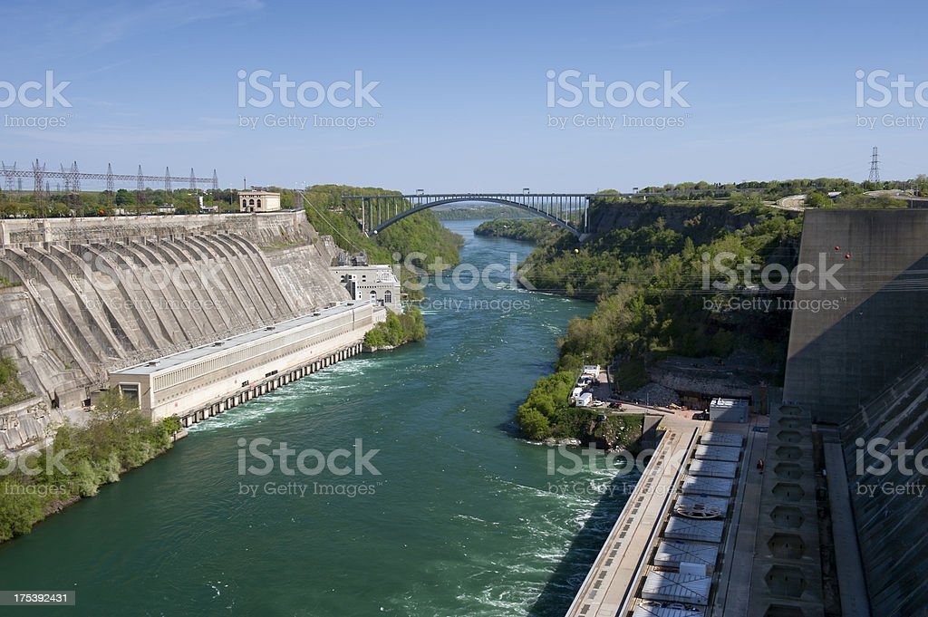 Hydroelectric Power Plants stock photo