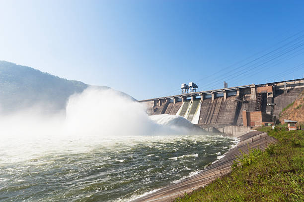 hydroelectric power station - hydroelectric power stock photos and pictures