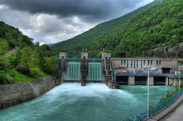 hydroelectric powerplant - hydroelectric power stock photos and pictures