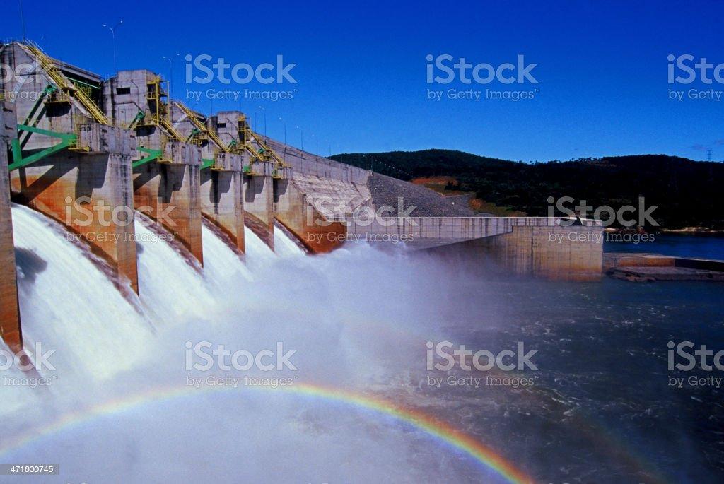 Hydroeletric Power Station stock photo