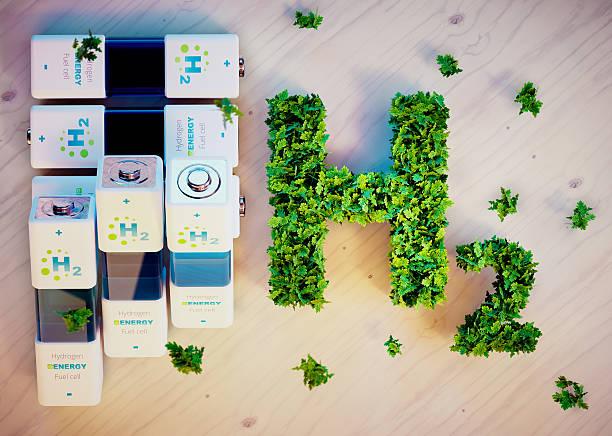 idrogeno concetto di energia - idrogeno foto e immagini stock