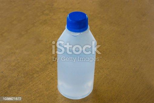 istock hydrogen peroxide medicine white plastic bottle closeup 1038621572