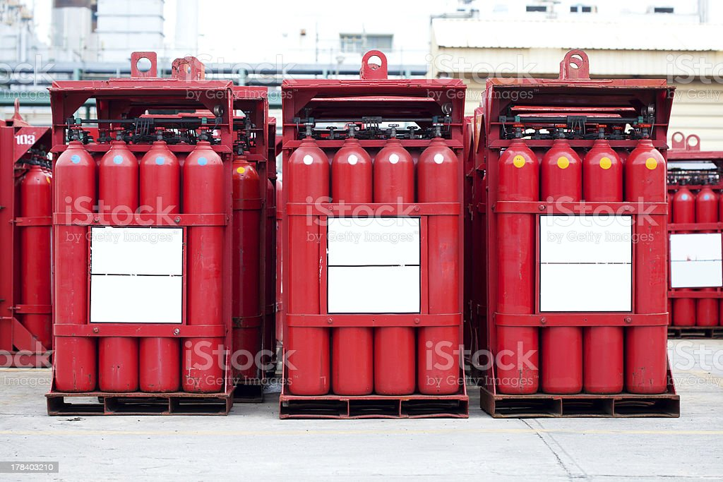 hydrogen tank royalty-free stock photo