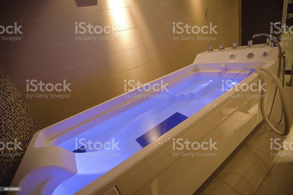 hydromassage bathtub royalty-free stock photo