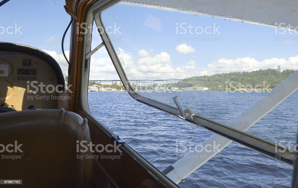 hydroplane royalty-free stock photo
