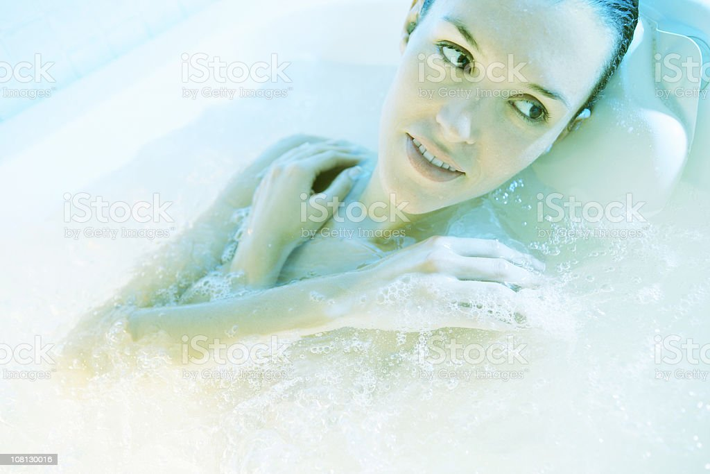 Hydrotherapy royalty-free stock photo