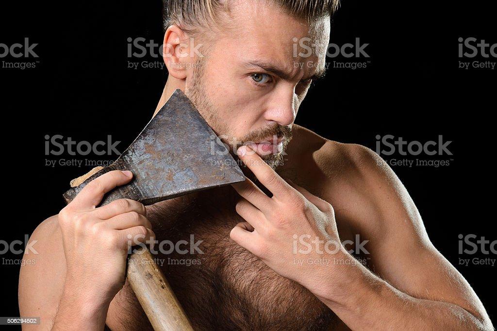 Hygiène hache homme - Photo