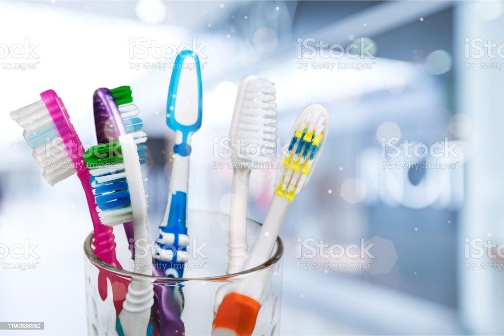 hygiene. - Lizenzfrei Zahnbürste Stock-Foto
