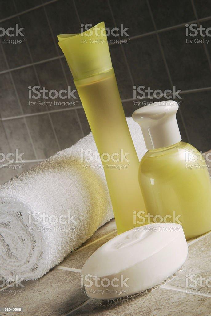 Prodotti di igiene foto stock royalty-free