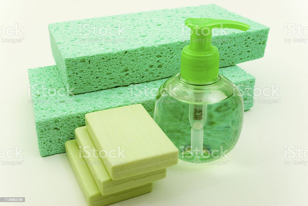 Hygienic Supplies royalty-free stock photo