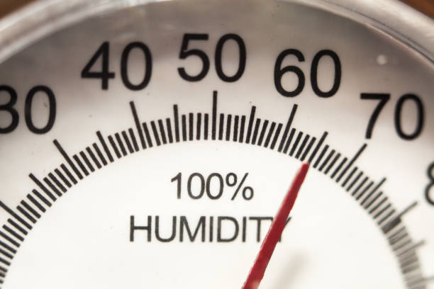 hygrometer gauge - влажный стоковые фото и изображения