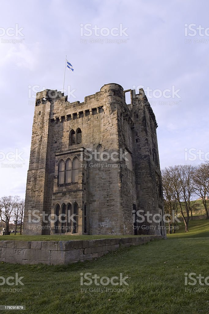 Hylton Castle, Sunderland stock photo