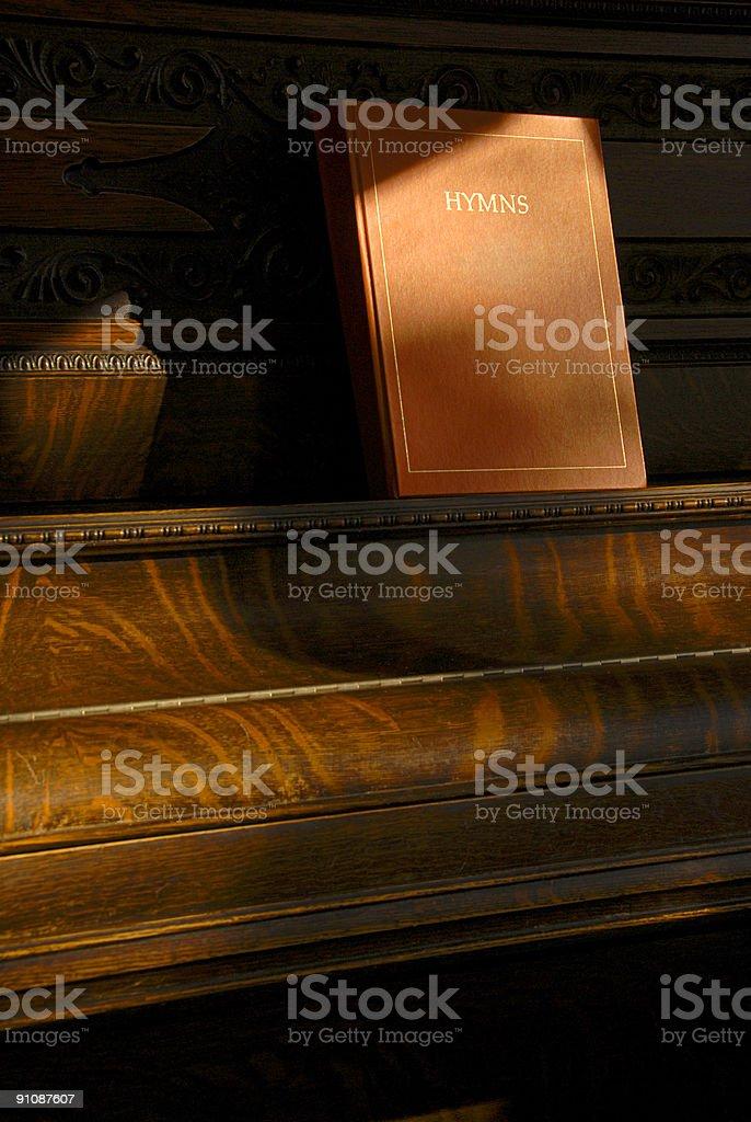 Hymn Book stock photo