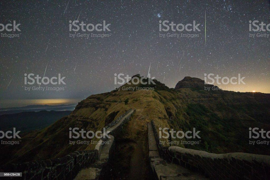 Hymn of the Stars stock photo