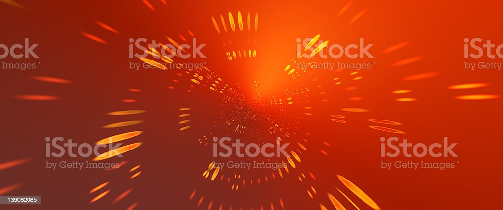 Hyper Abstractor 3 royalty-free stock photo