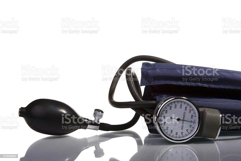 hypertension measure tool royalty-free stock photo