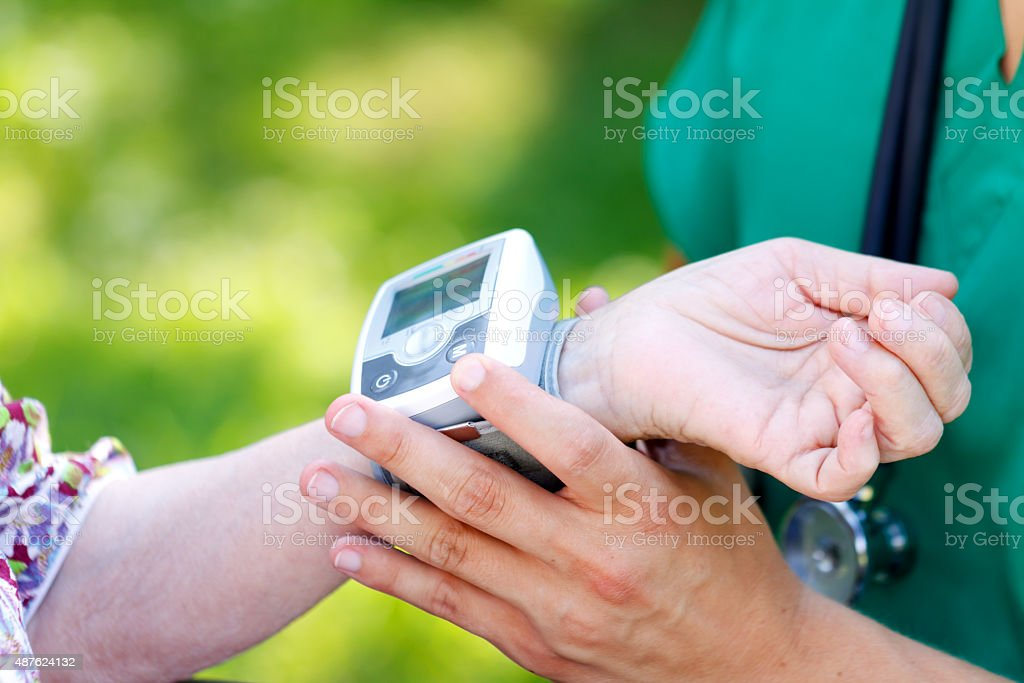 Hypertension stock photo