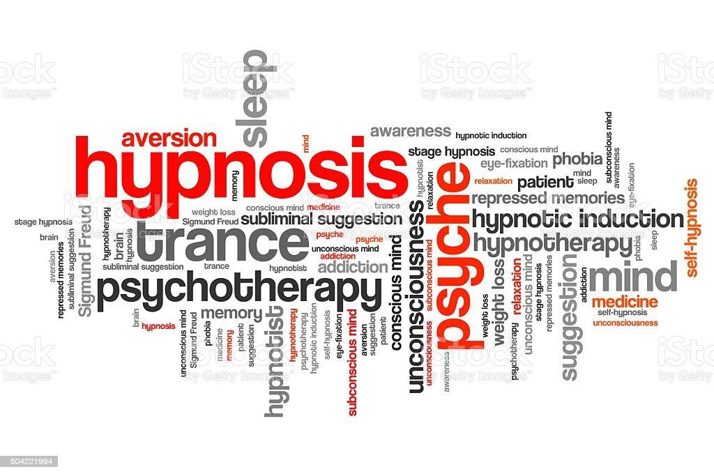 Hypnosis stock photo