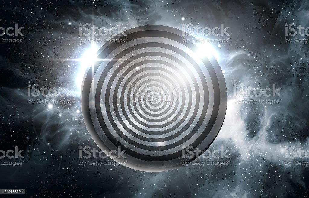 Hypnosis Swirl Universe stock photo