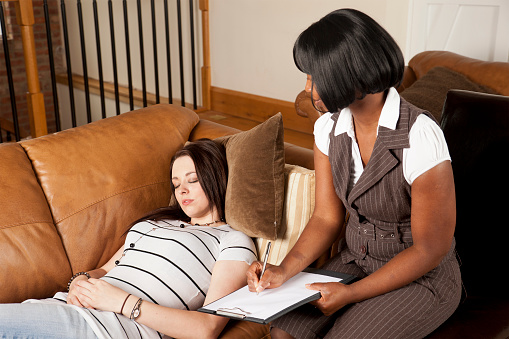 Hypnotherapy Session Stock Photo - Download Image Now - iStock
