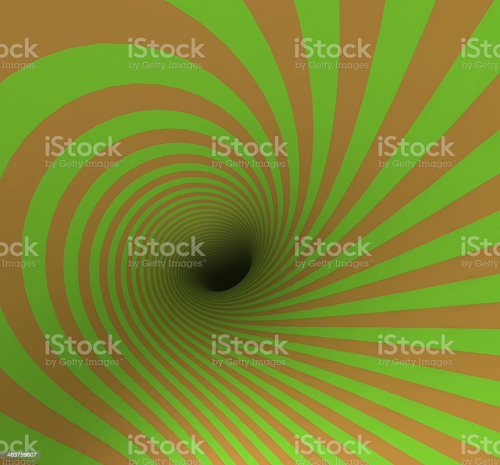 Hypnotic Spiral royalty-free stock photo