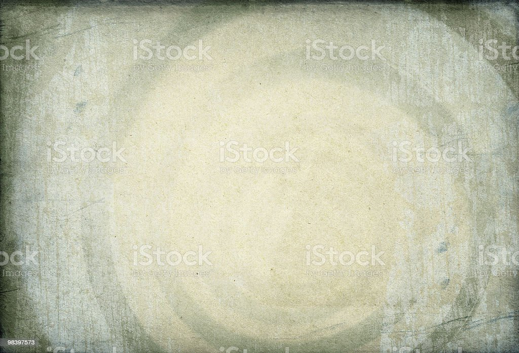 Hypnotic swirling image on vintage paper background. royalty-free stock photo