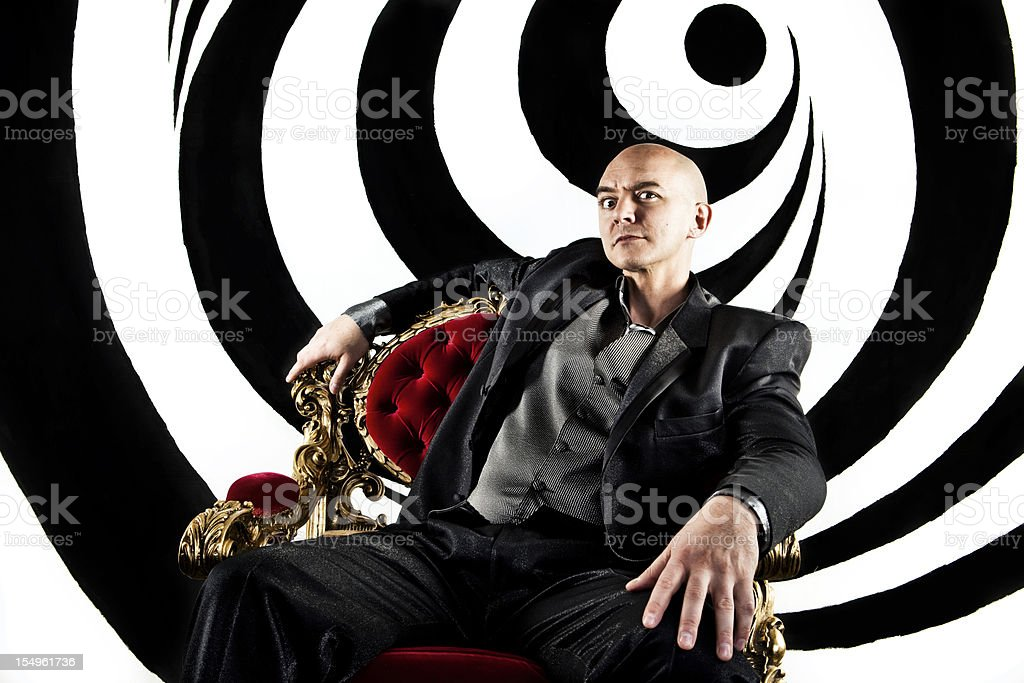 Hypnotist Portrait stock photo