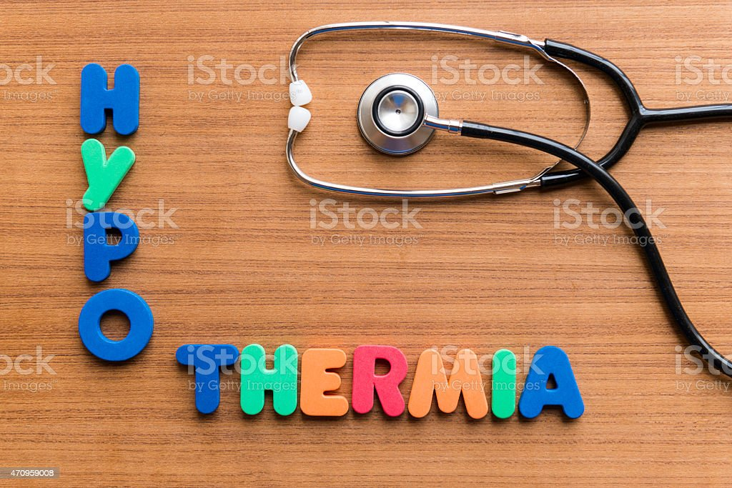 hypothermia stock photo
