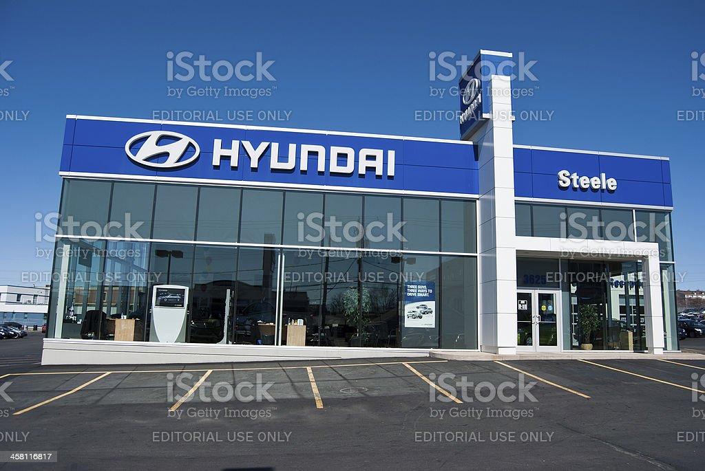 Hyundai Dealership in Halifax, Nova Scotia stock photo