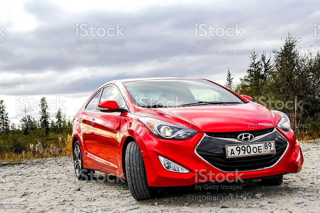 Hyundai Elantra stock photo