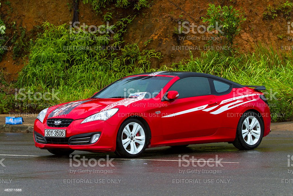 Hyundai Genesis Coupe Car Stock Photo Download Image Now