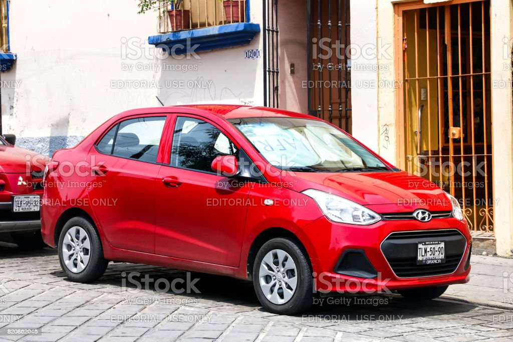 Hyundai Grand i10 stock photo