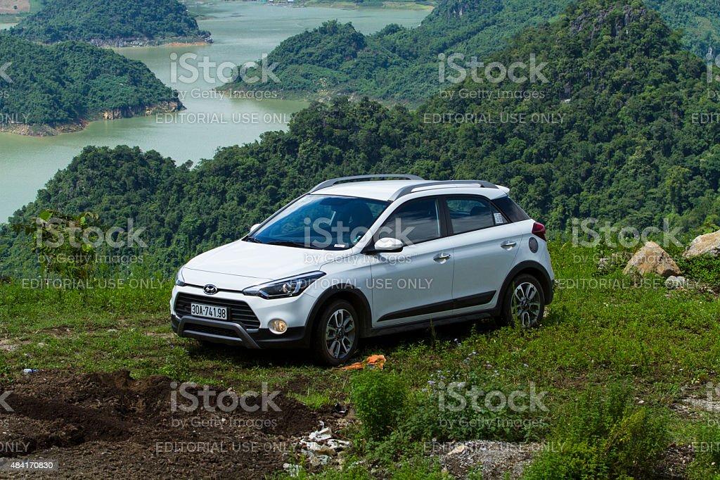 Hyundai i20 Active car stock photo