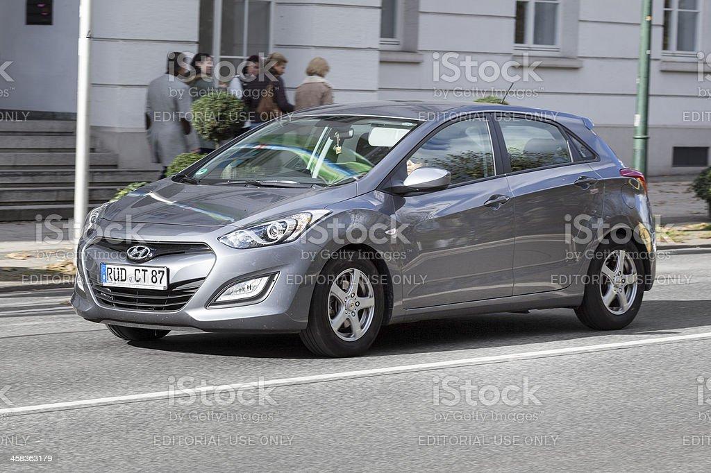 Hyundai i30 (2nd generation) stock photo