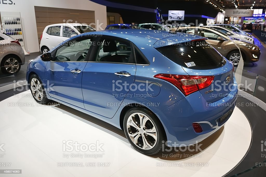 Hyundai i30 royalty-free stock photo