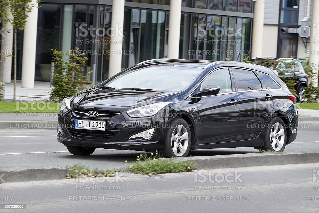 Hyundai i40 station wagon royalty-free stock photo