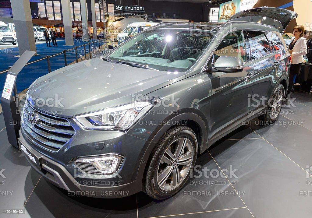 Hyundai SantaFe SUV stock photo