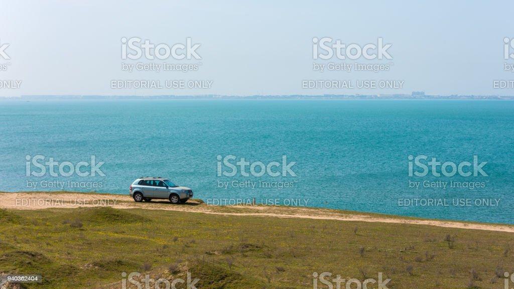 Hyundai Tucson-Auto auf dem Seeweg – Foto