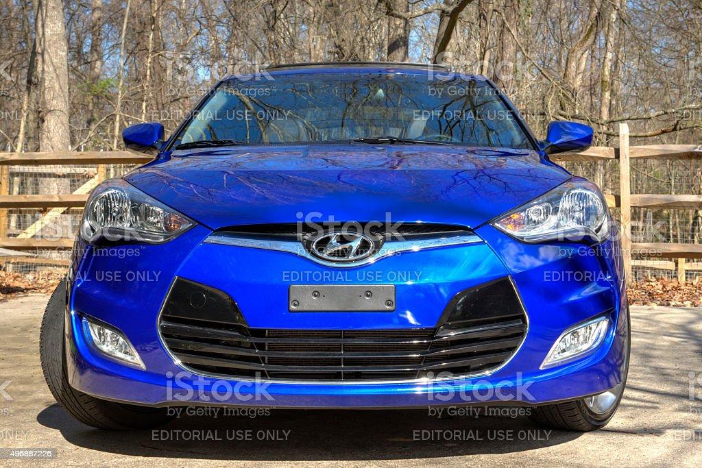Hyundai Veloster 3 stock photo