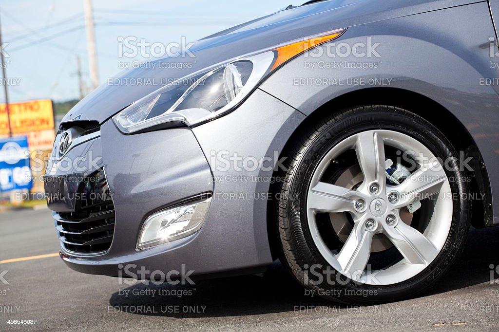 Hyundai Veloster Front Fascia stock photo