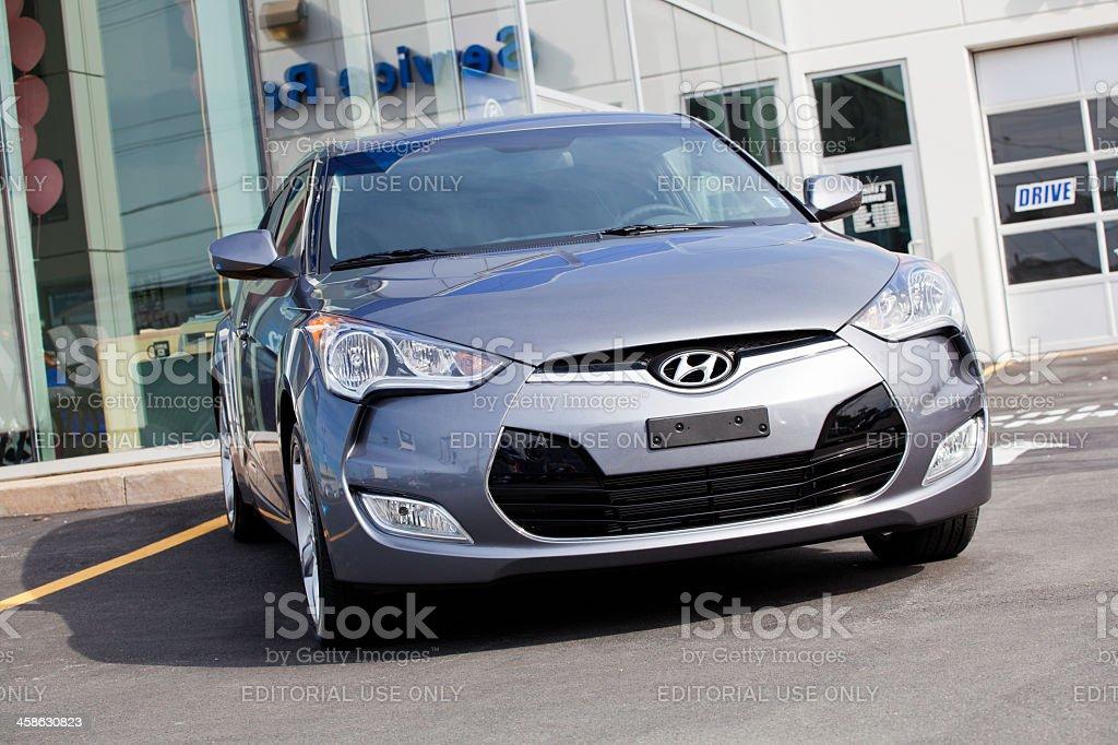 Hyundai Veloster stock photo