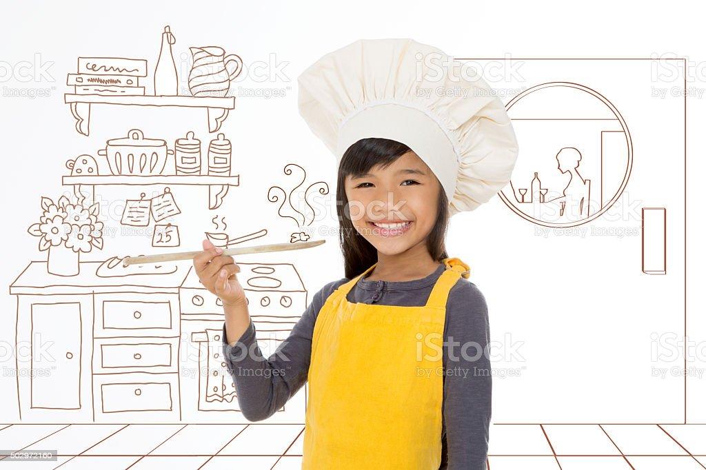Je rêve de devenir un célèbre chef - Photo